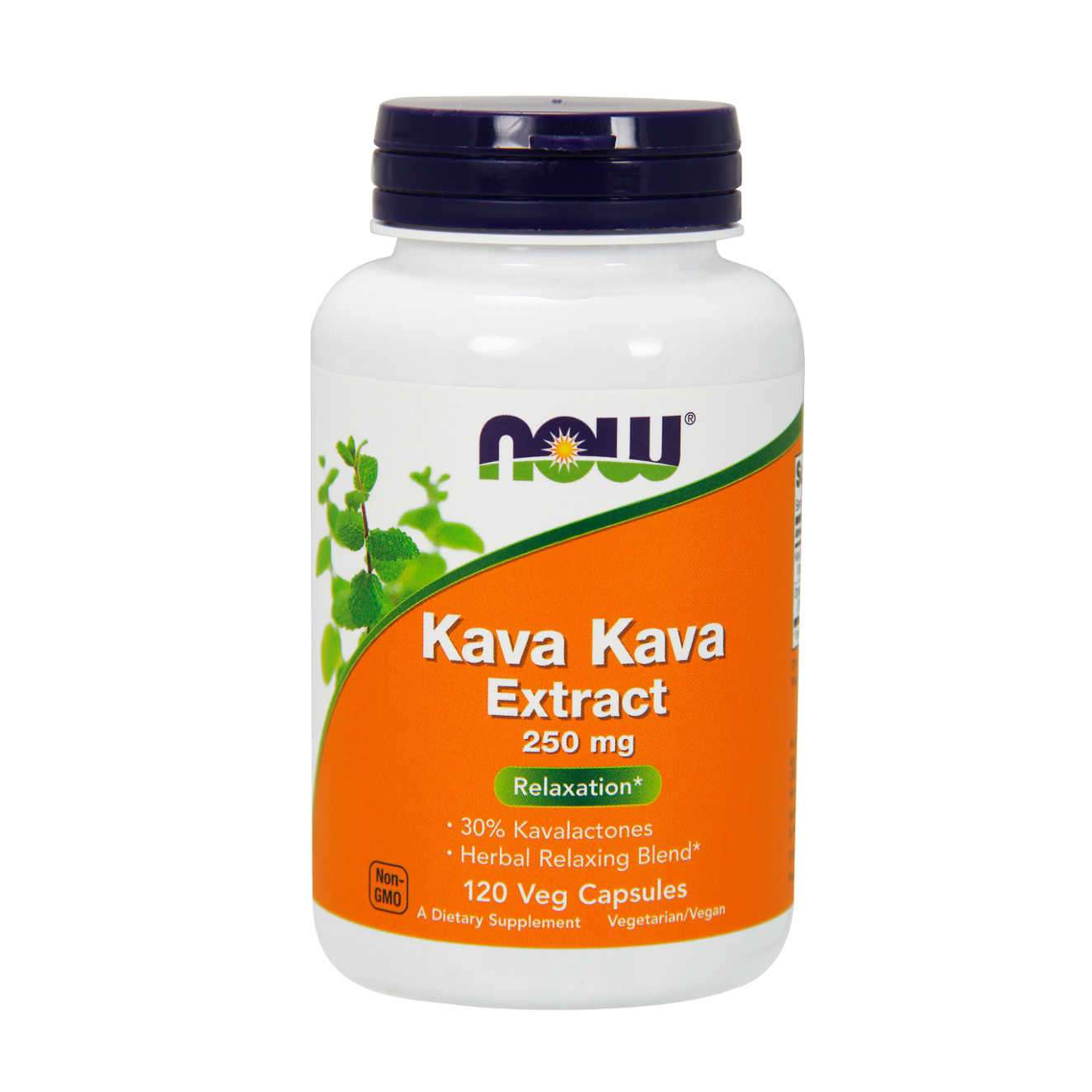 KAVA KAVA EXTRACT 250mg - 120 veg caps
