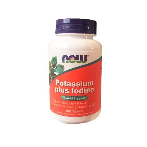 POTASSIUM PLUS IODINE - 180 tabs