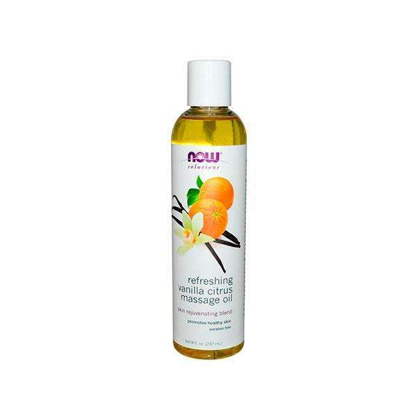 REFRESHING VANILLA CITRUS MASSAGE OIL 237ml