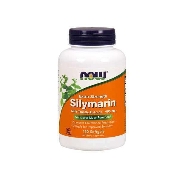 SILYMARIN MILK THISTLE EXTRACT 450mg - 120 softgels