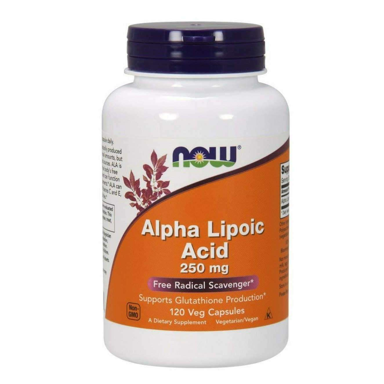 ALPHA LIPOIC ACID NOW - 600mg