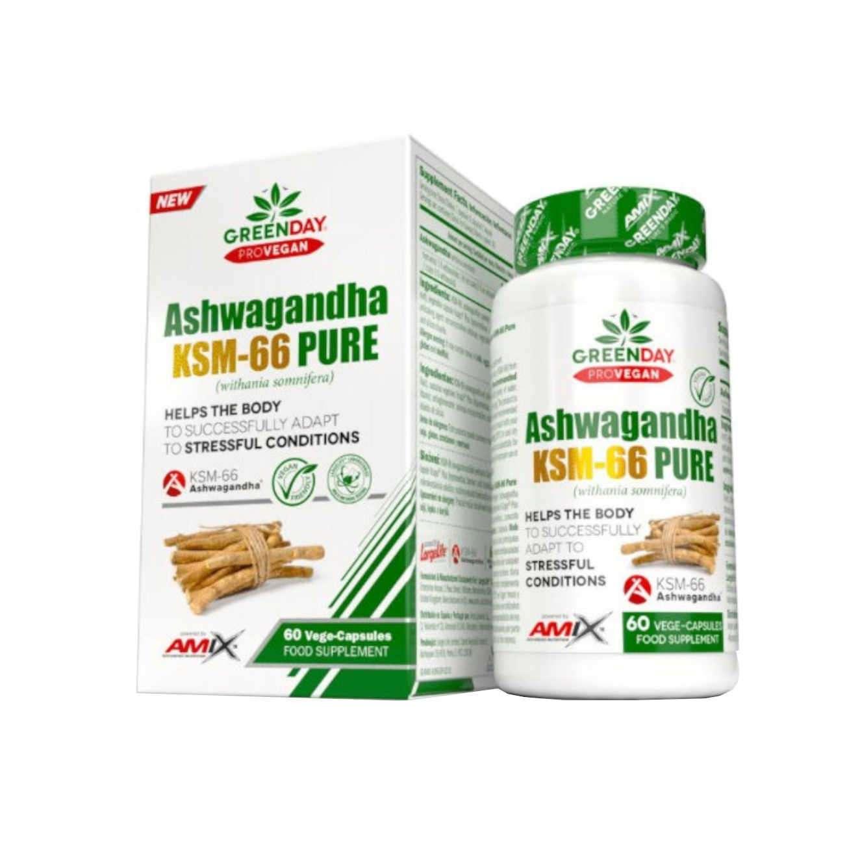 ASHWAGANDHA KSM-66 PURE - 60 veg caps