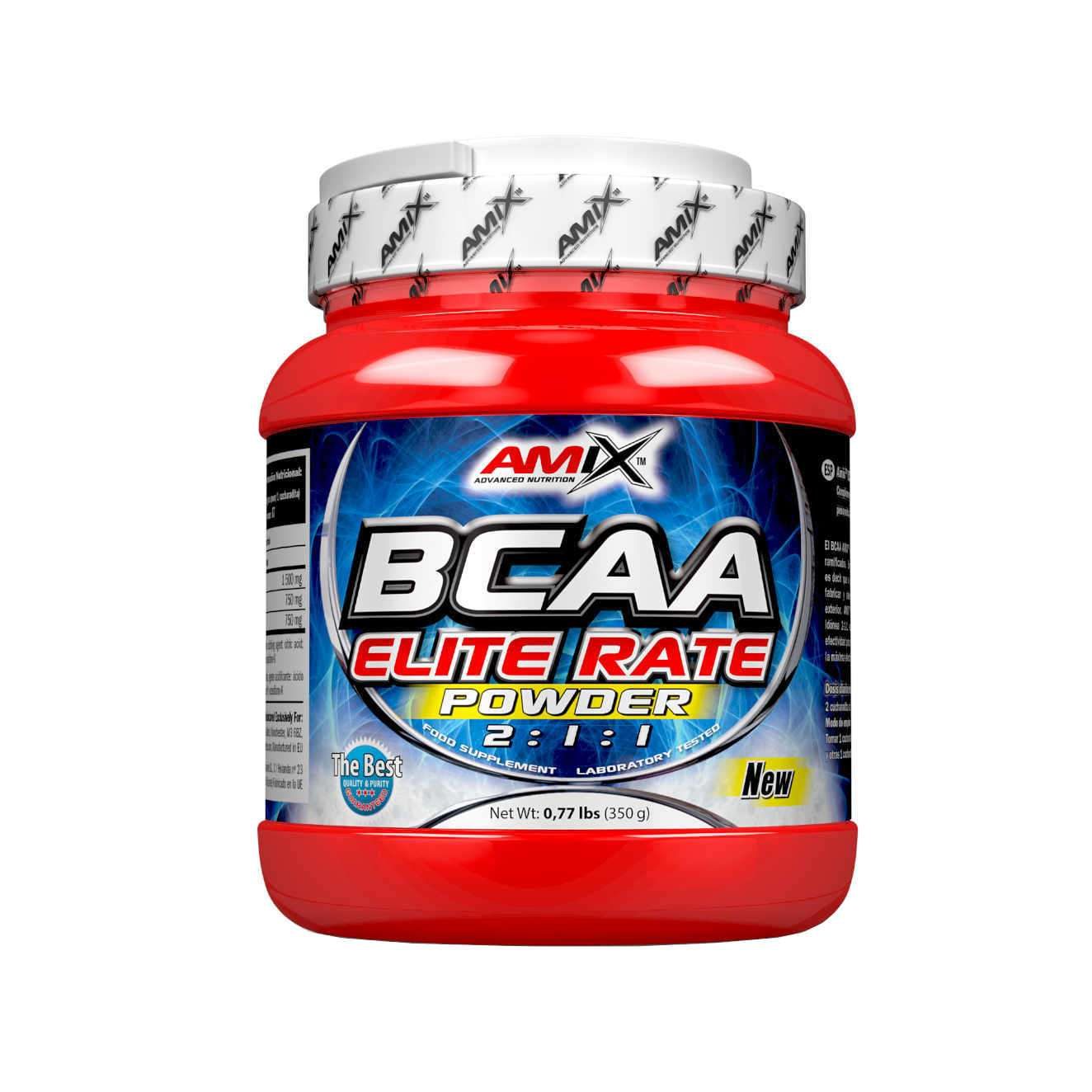 BCAA ELITE RATE POWER  2:1:1 350g LIMONE