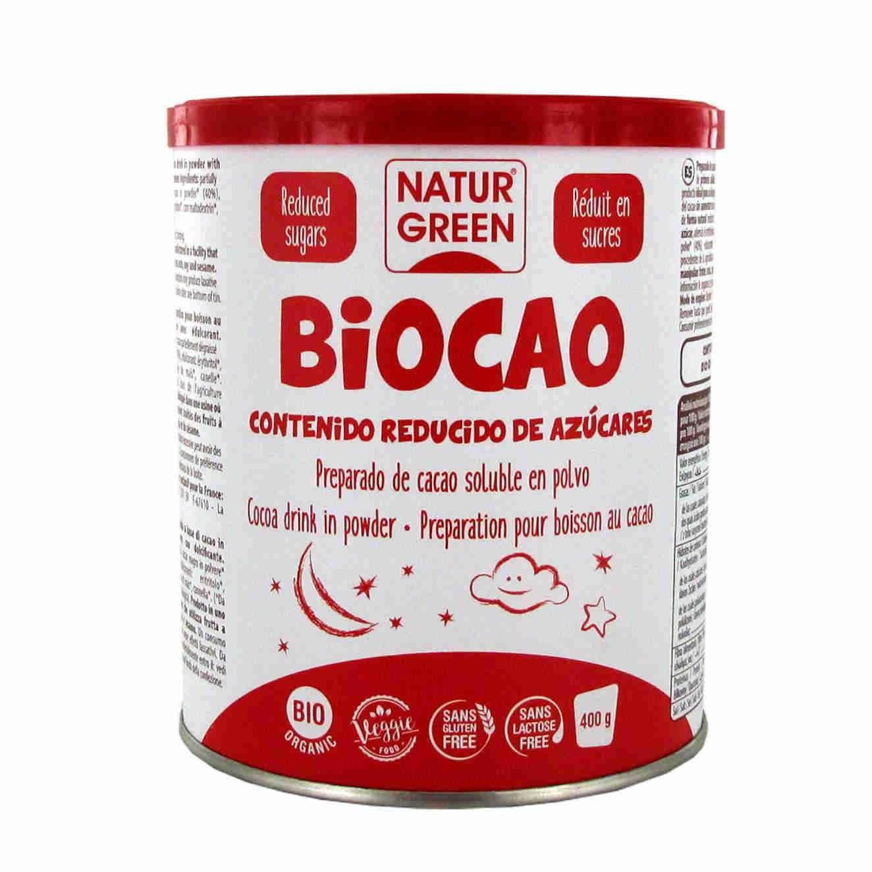BIOCAO CONTENUTO RIDOTTO IN ZUCCHERI - 400g