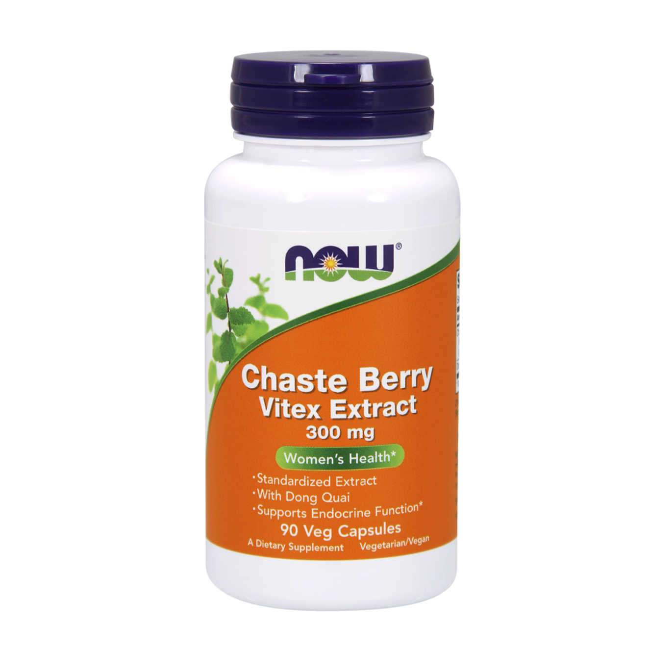 CHASTE BERRY VITEX EXTRACT 300mg - 90 veg caps