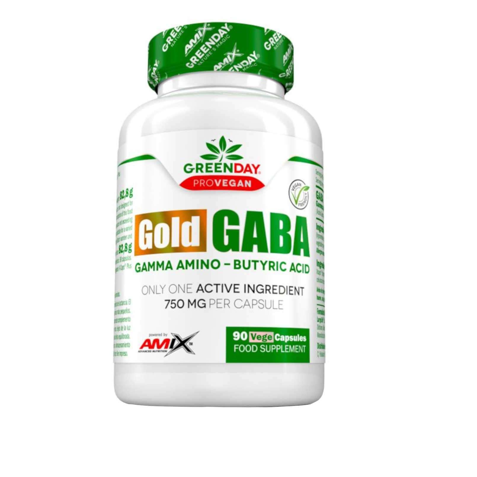 GOLD GABA - 90 veg caps