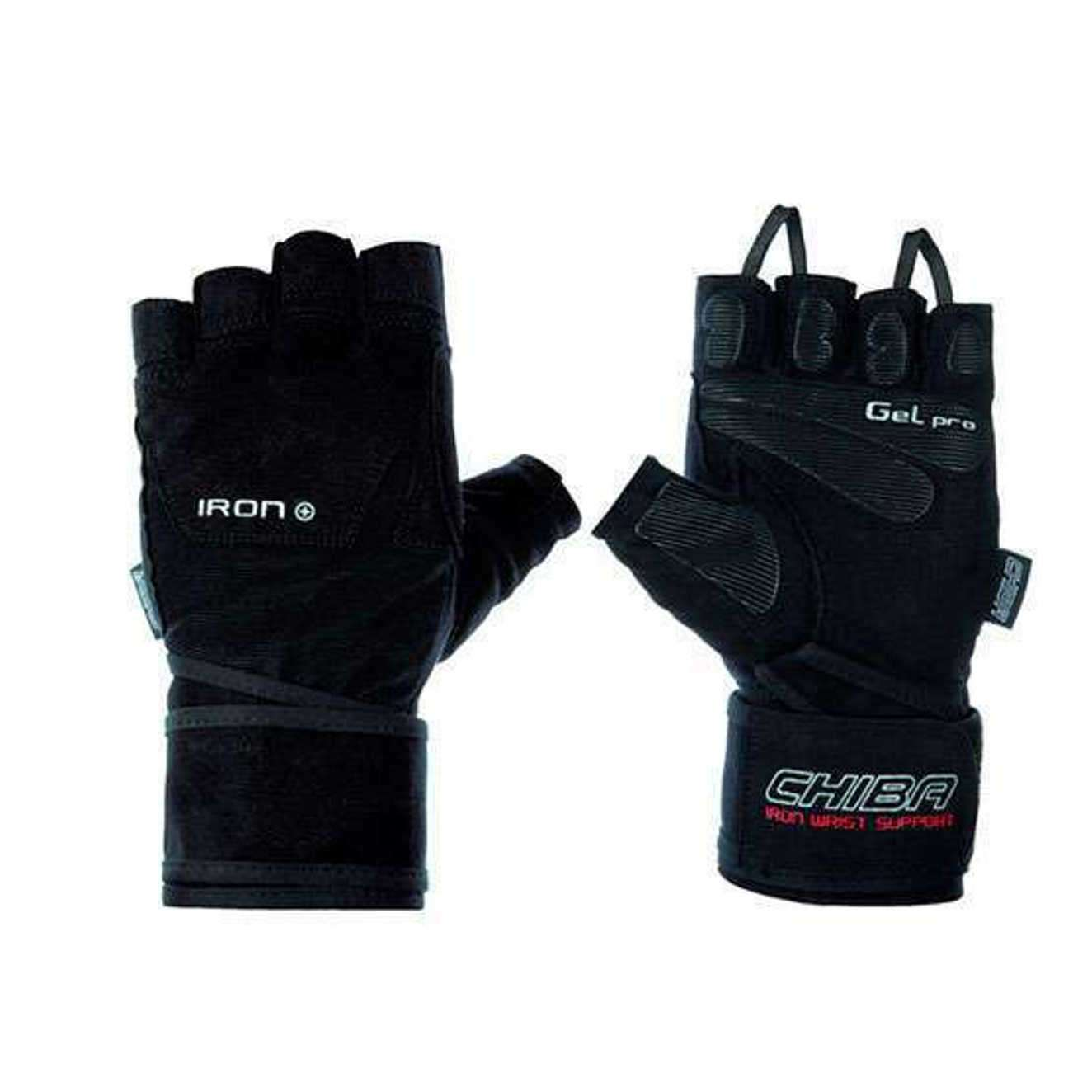 IRON II GLOVES NEGRO