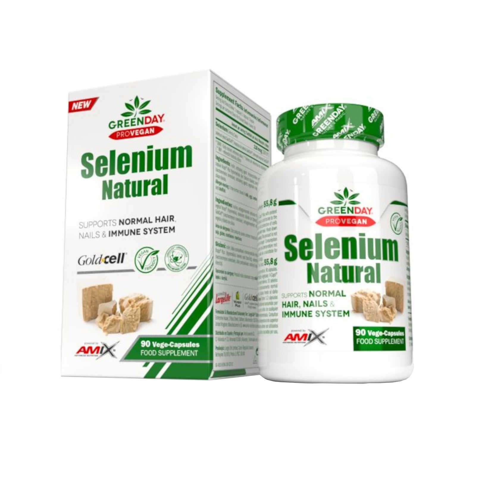 SELENIUM NATURAL - 90 veg caps