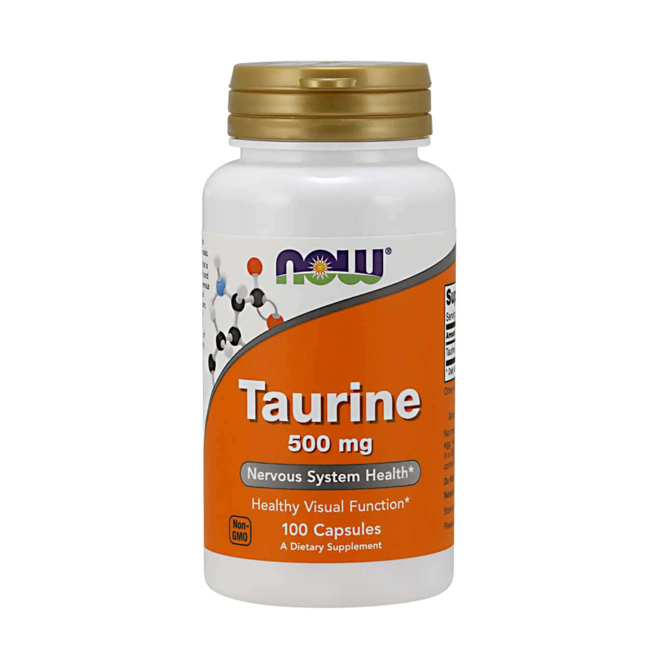 TAURINE 500mg - 100 caps