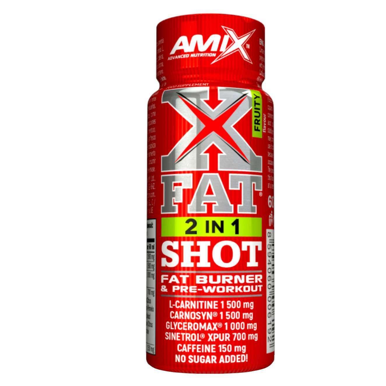 X FAT 2 IN 1 SHOT 60ml FRUTTI