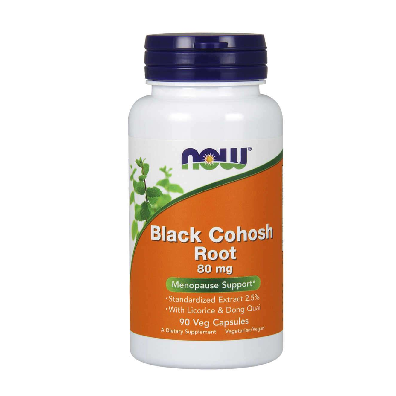 BLACK COHOSH ROOT 80mg - 90 veg caps