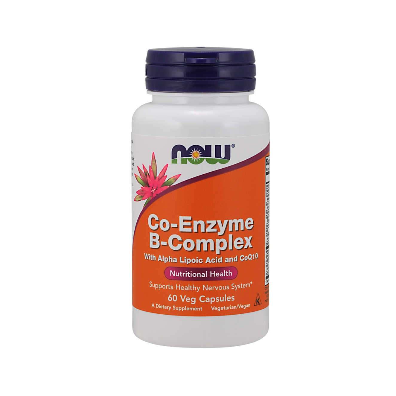 COENZYME Q10 + B-COMPLEX - 60 veg caps
