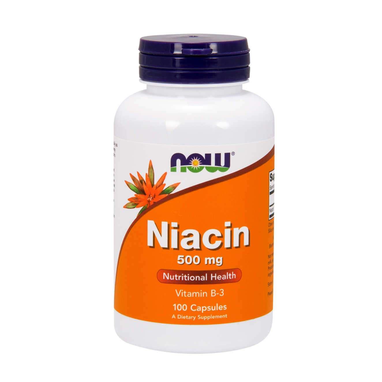 NIACIN 500mg - 100 caps