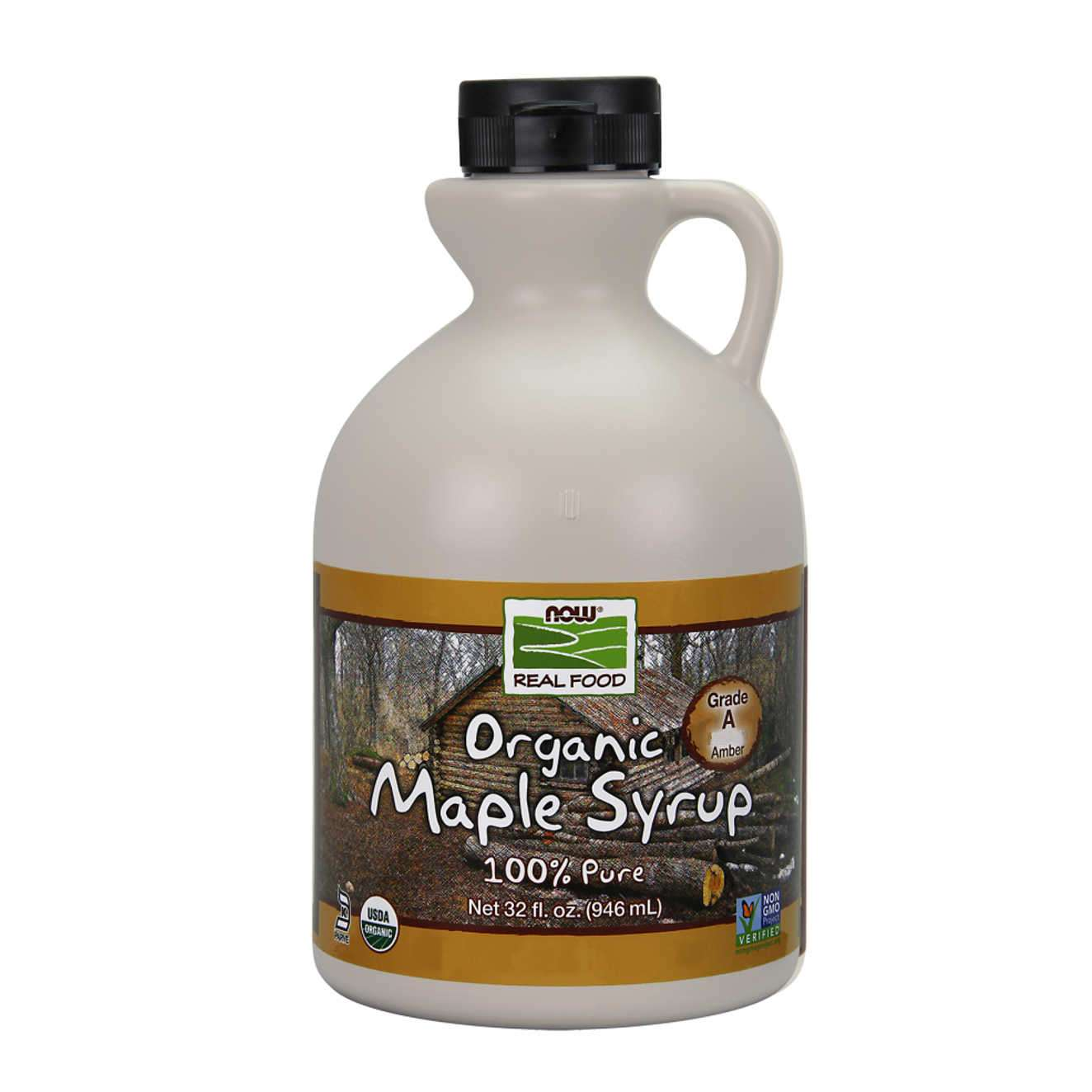 ORGANIC MAPLE SYRUP GRADE A AMBER COLOR - 946ml
