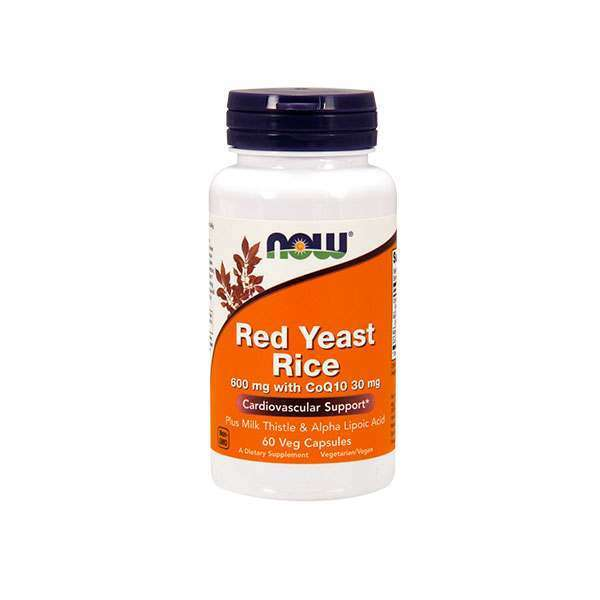 RED YEAST RICE 600mg W/CO-Q10 30mg - 60 veg caps