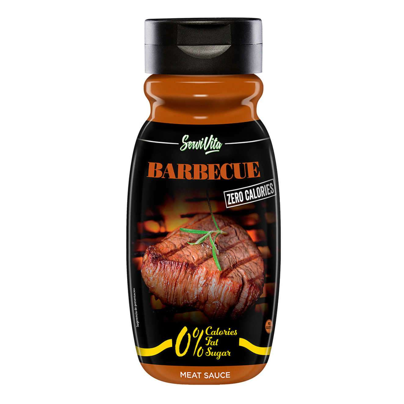SERVIVITA SAUCE BARBECUE ZÉRO CALORIES - 320ml