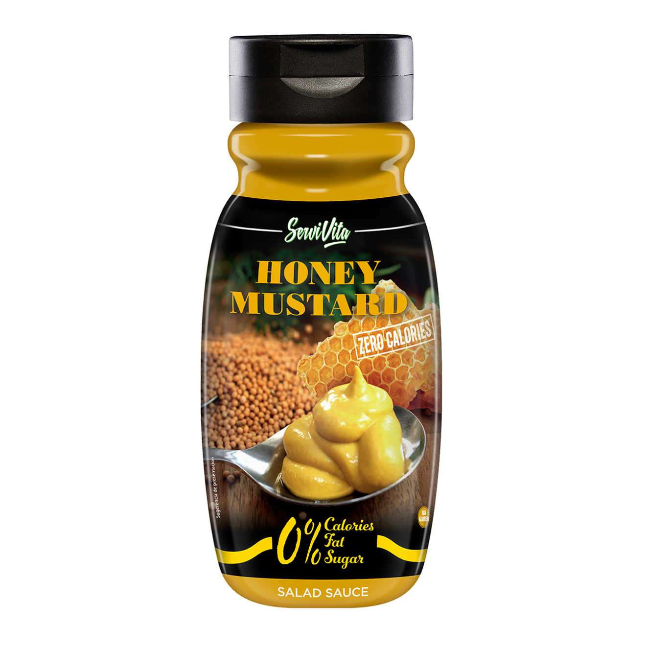 SERVIVITA SAUCE MOUTARD ET MIEL ZÉRO CALORIES - 320ml