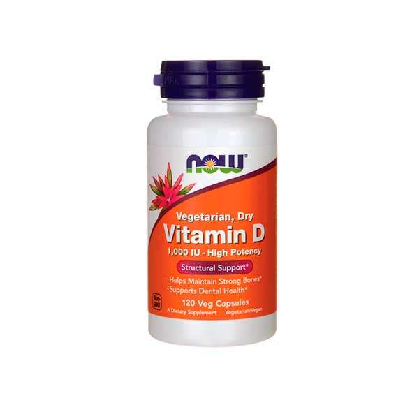 VITAMIN D 1000IU HIGH POTENCY - 120 veg caps