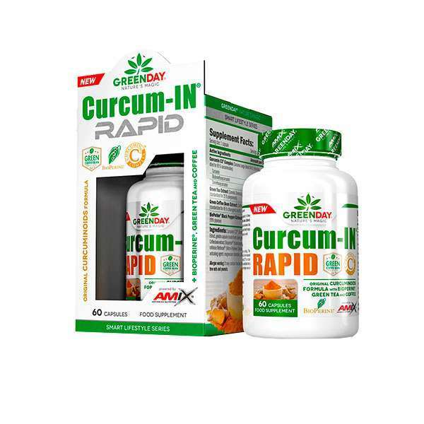CURCUM-IN RAPID - 60 caps