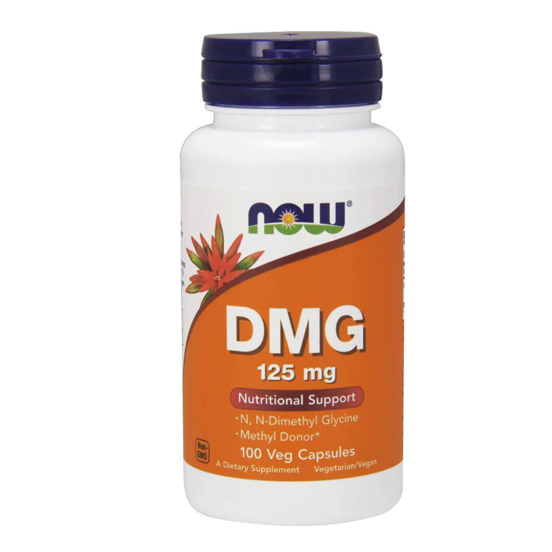 DMG (DIMETHYLGLYCIN) 125 mg - 100 veg caps