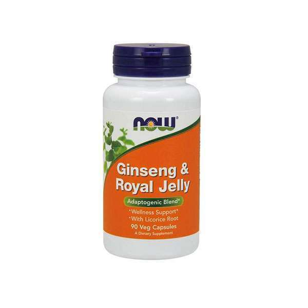 GINSENG + GELÉE ROYALE 300 mg/100 mg - 90 veg caps