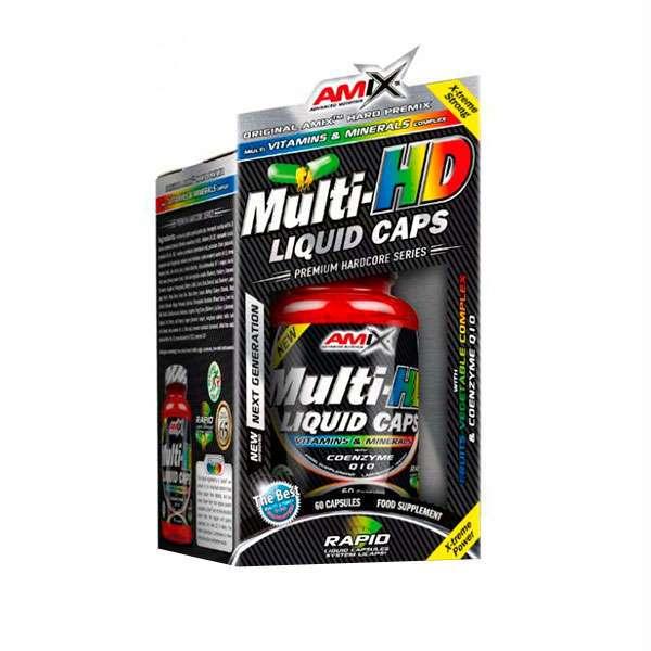 MULTI-HD LIQUID CAPS - 60 caps
