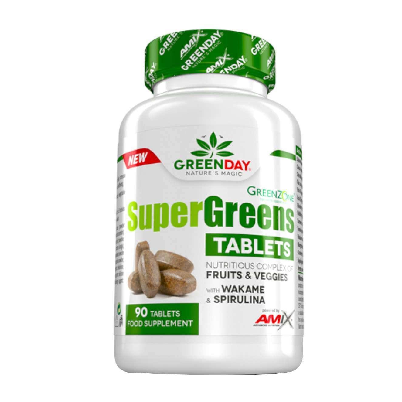 SUPER GREENS TABLETS - 90 tabs
