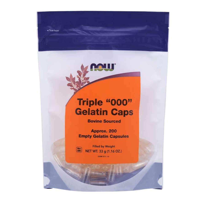 LEERE GELATINEKAPSELN (1230 mg) - 200 caps