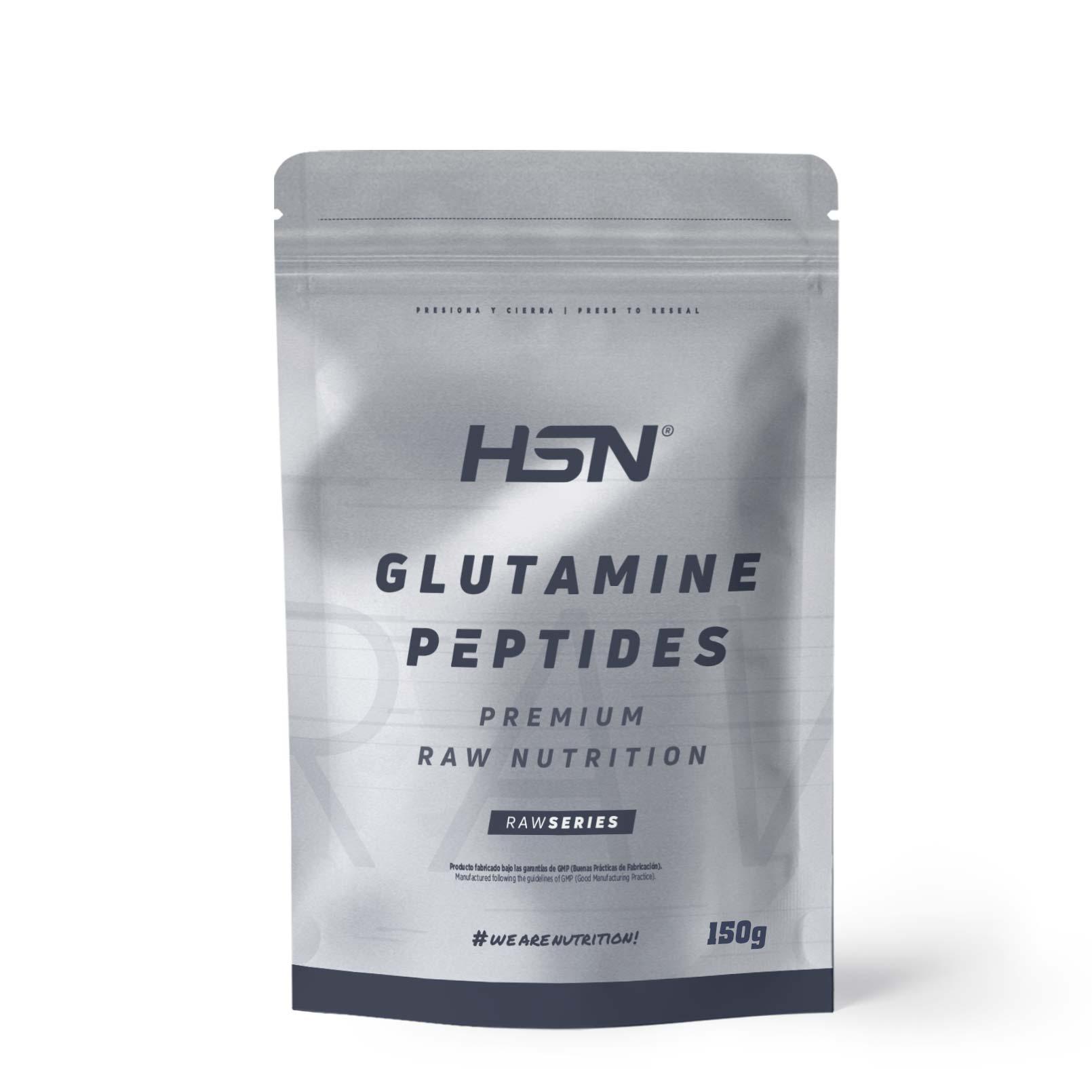 Péptidos de Glutamina 150g de Raw Series