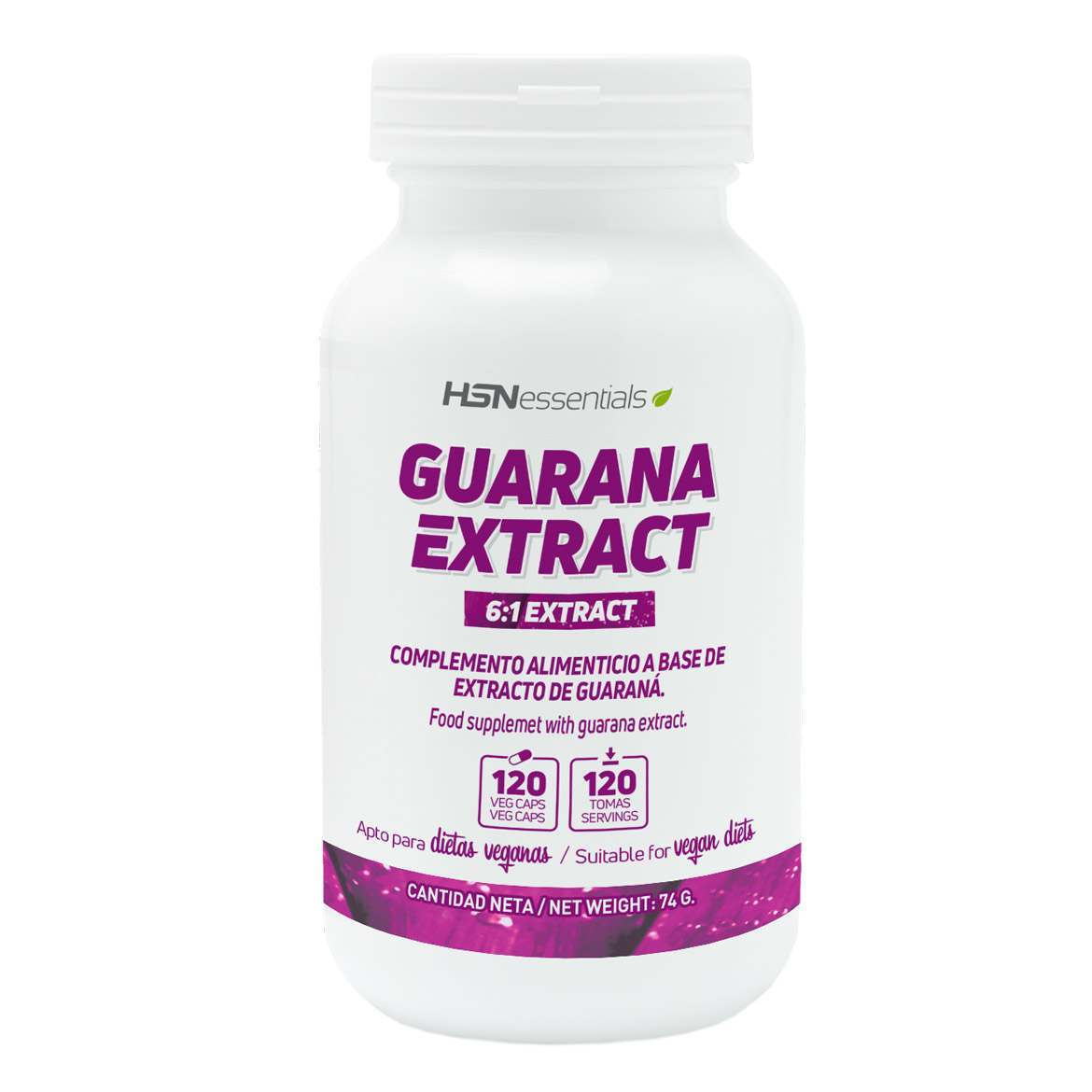 Extracto de Guaraná 400mg
