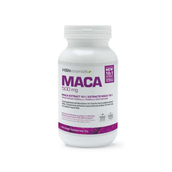 Maca 500mg de Essential Series