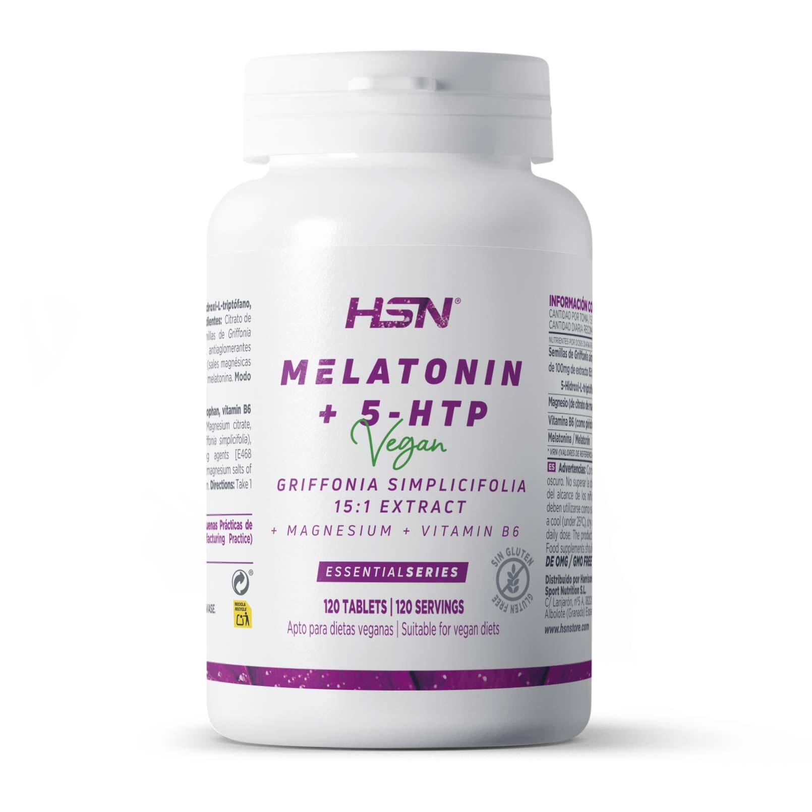 Melatonina + 5-HTP 1,9/100mg
