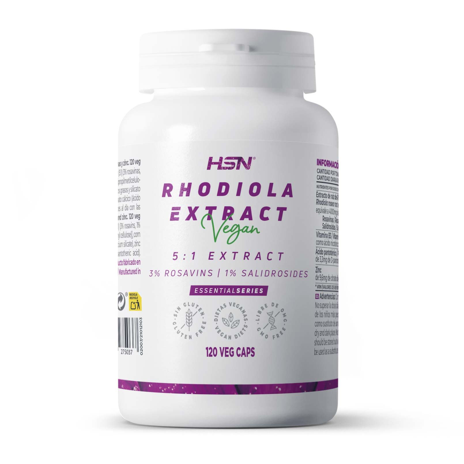 Rhodiola Rosea Essential Series