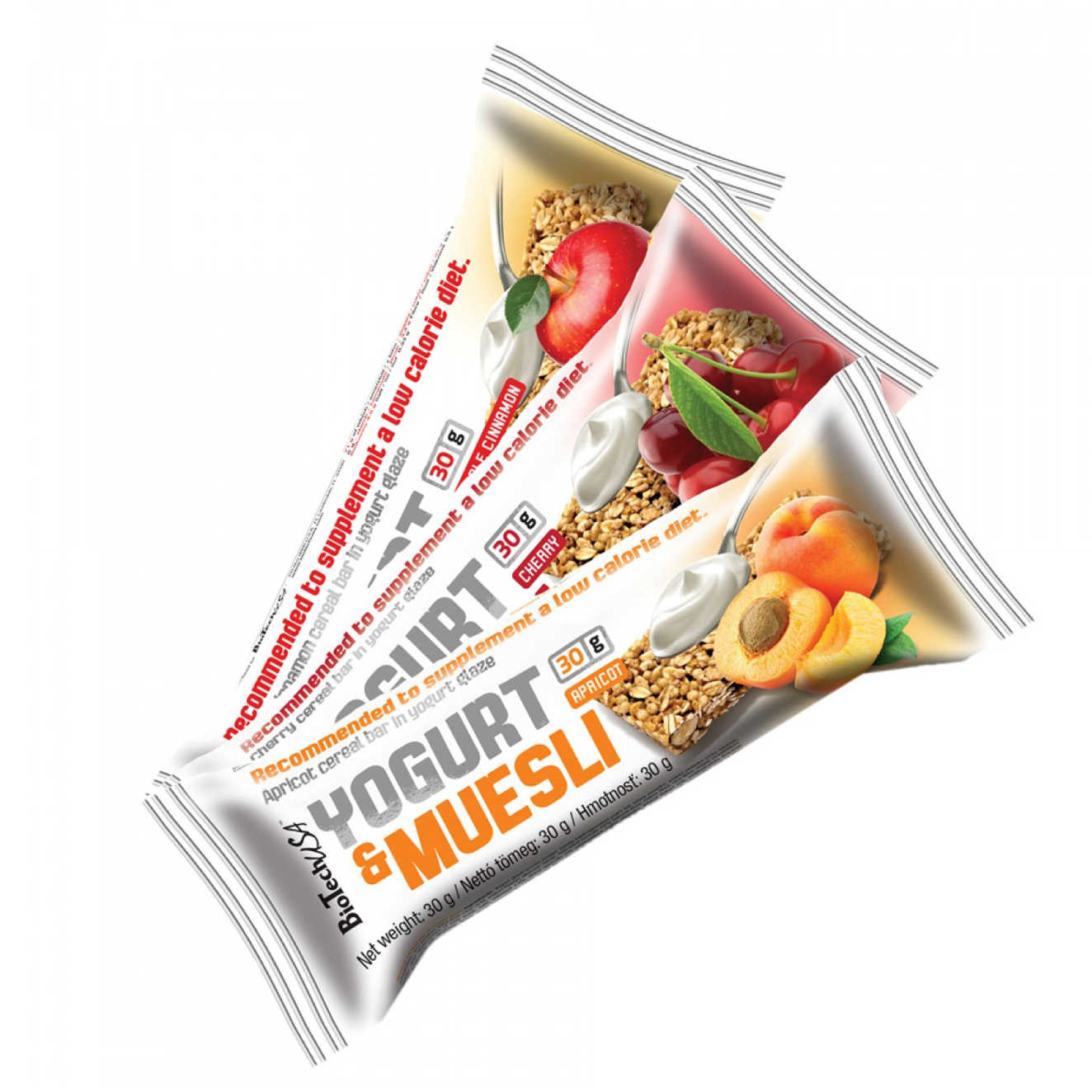 YOGURT & MUESLI BAR - 30g - BioTechUSA