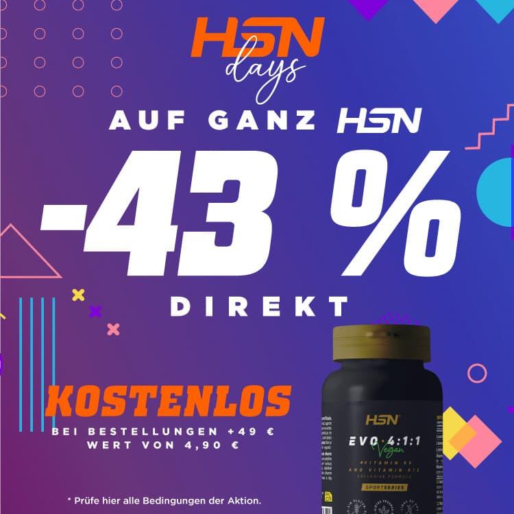 43 % Direktrabatt HSN DAYS