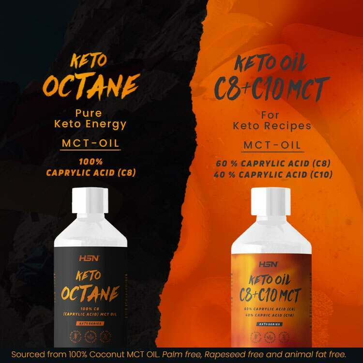 New In Keto Octane & Keto Oil C8 + C10 MCT