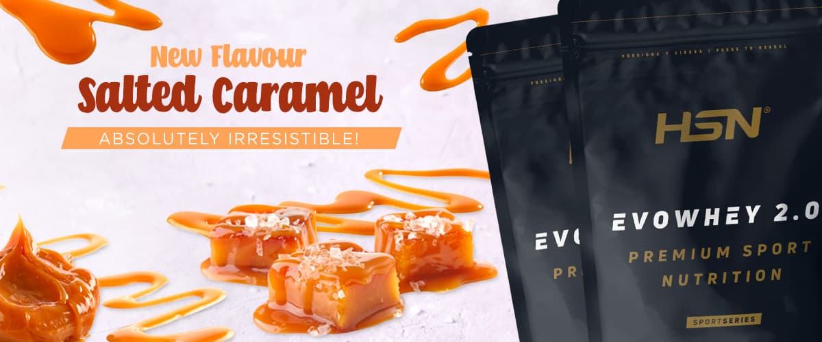 New in Evowhey Salty Caramel