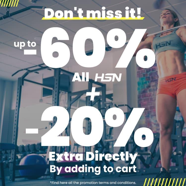 Deal 60% HSN + 20% Extra