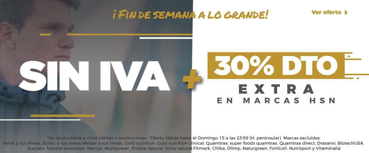 NO IVA + 30%