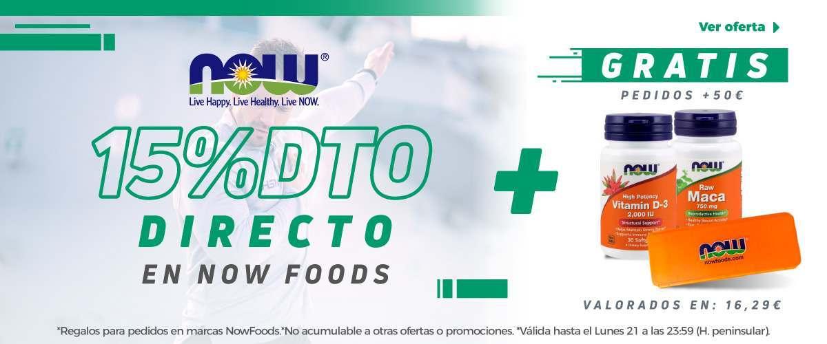 -15% Now Foods