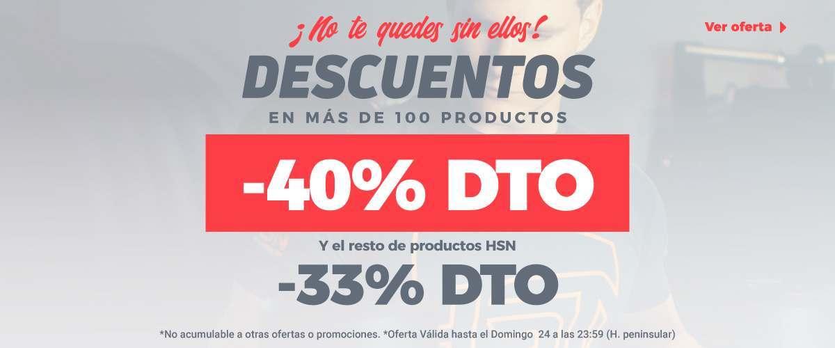 -33% & Top 100 -40%