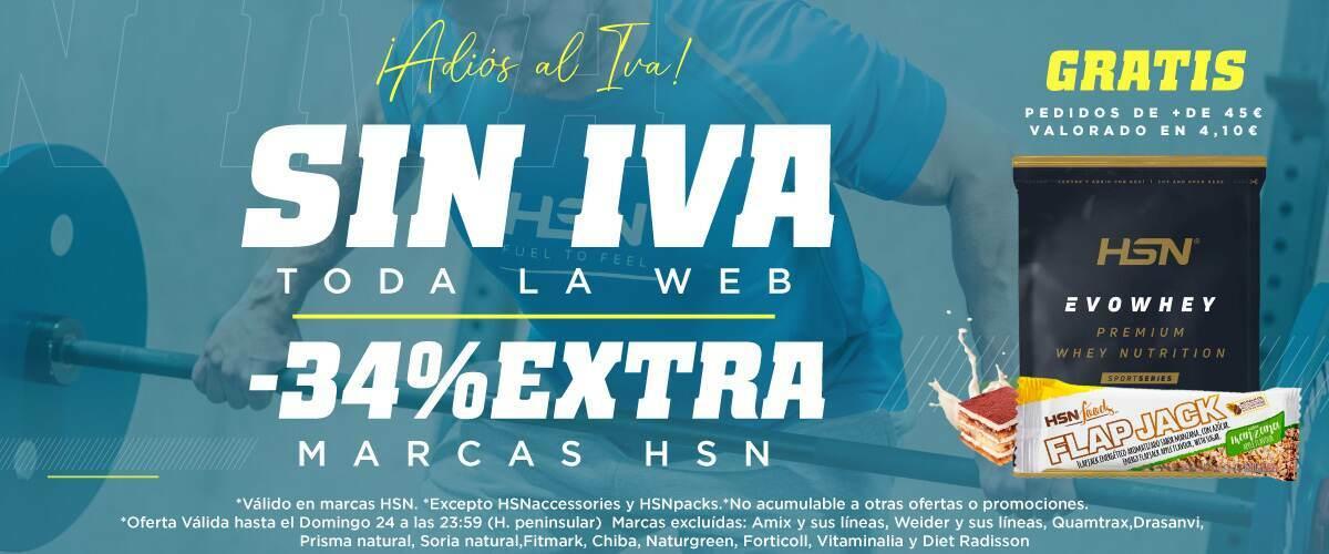 Promo Sin IVA en Todo HSN