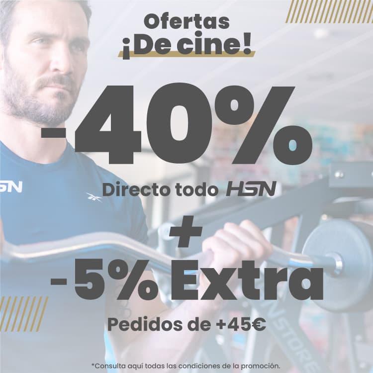 Promo 40% HSN + 5% EXTRA