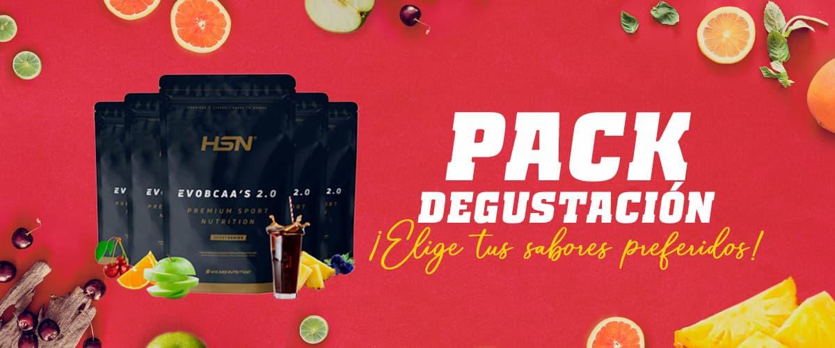 Pack Degustación de Evobcaa's 2.0