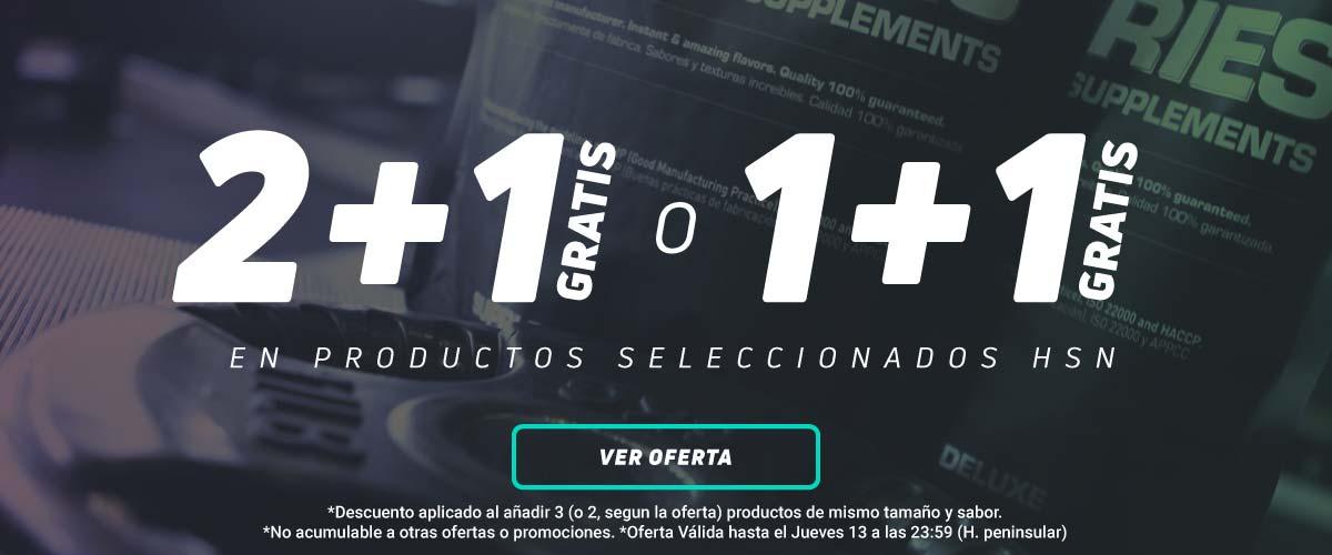 Productos Seleccionados HSN 2 + 1 GRATIS o 1+1 GRATIS