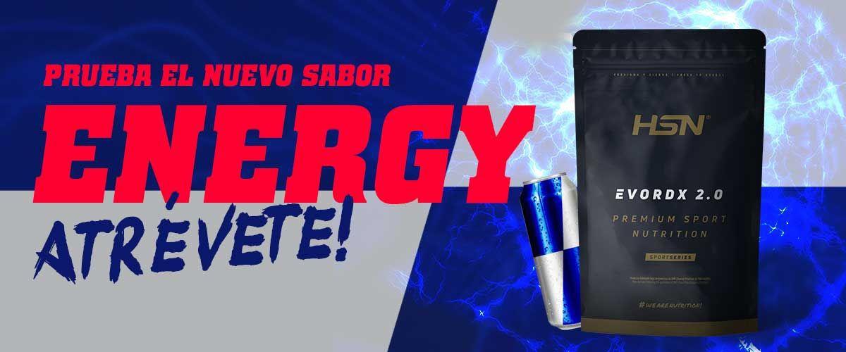 Nuevo Sabor Energy Evodrx de HSNsports