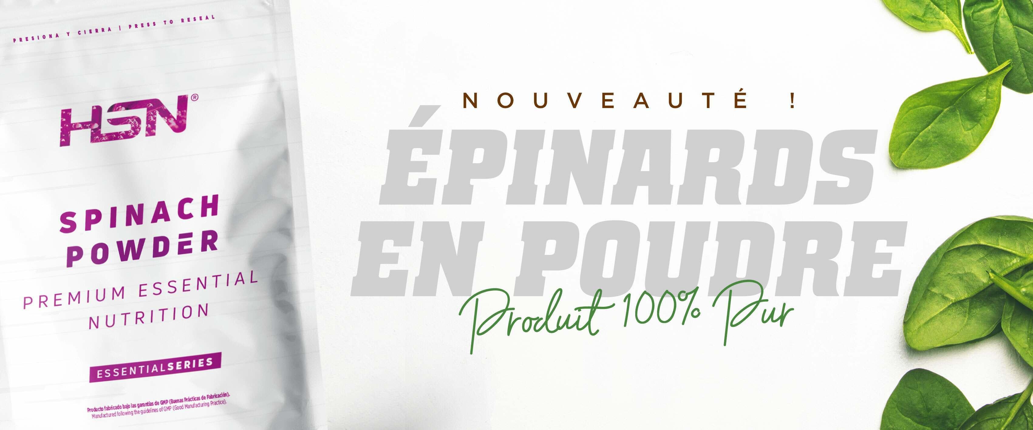 Acheter Épinards en Poudre