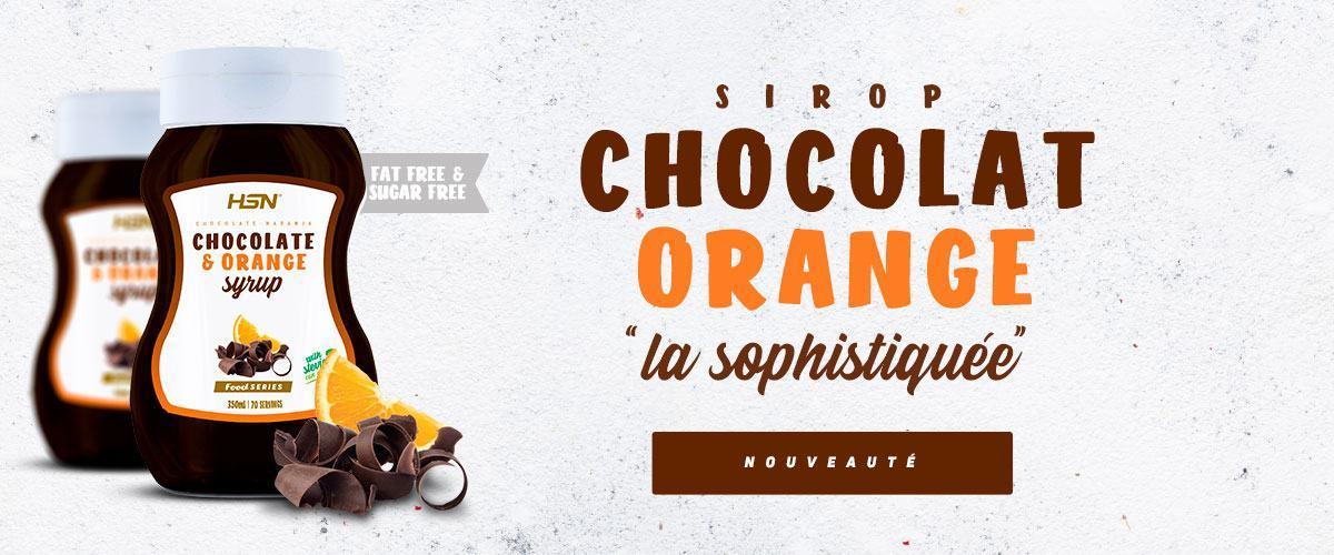 SIROP CHOCOLAT ET ORANGE