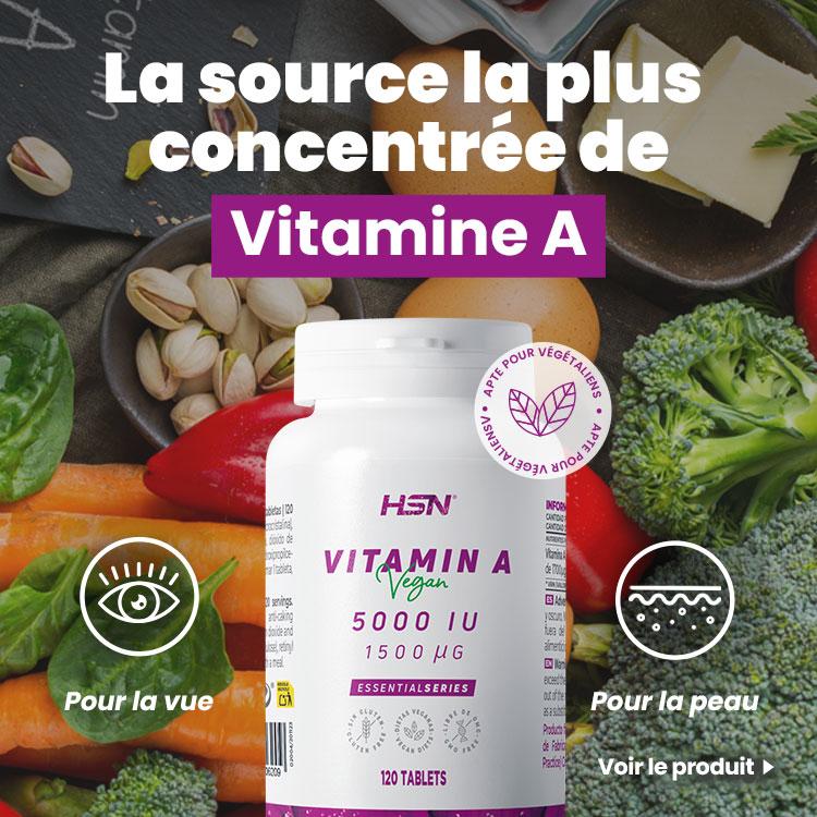 Nouveauté Vitamine A 5000UI de EssentialSeries