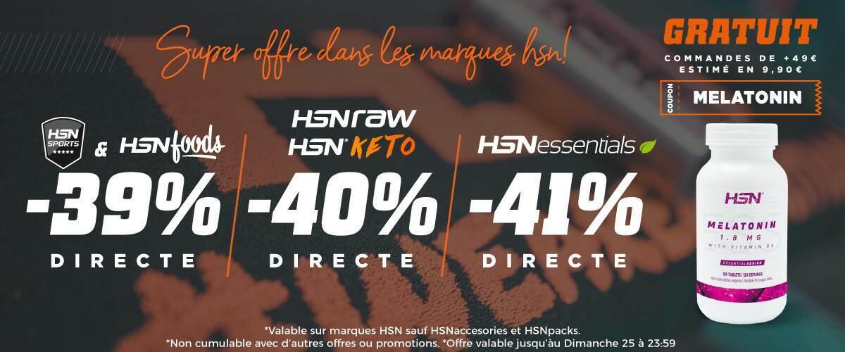 Jusqu'á 41% HSN